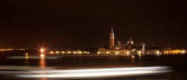 Venice at night Royalty Free Stock Photography