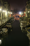 Venice in night Stock Photography