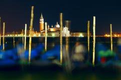 Venice by night Stock Photos