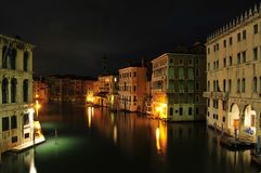 Venice Night Stock Image