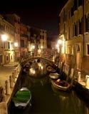 Venice in night Stock Photos