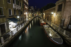 Venice in the night Stock Image
