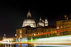 Cityscape image of Grand Canal in Venice Stock Image