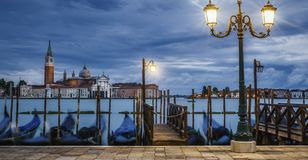 Venice at night Stock Image