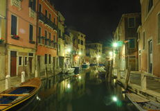 Venice by Night Stock Images