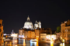 Venice night landscape Stock Photo