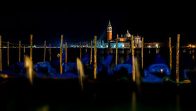 Venice at night Stock Images