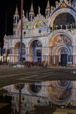 Venice in the night Royalty Free Stock Photography