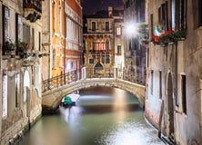 Venice at night Stock Photo