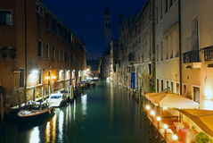 Venice night view Royalty Free Stock Photography