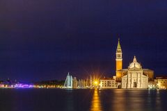 Venice at night. Stock Images