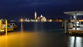 Venice at night Royalty Free Stock Photos