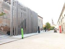 venice 18 oktober 2014: padiglione italia Royaltyfria Foton