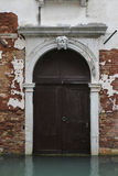 Venice old door Stock Photo