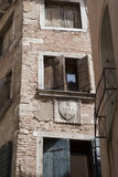 Venice. Old house facade Stock Image