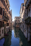 Venice old town canals in Italy Stock Photography