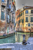 Venice. One of the many canals running through the city Royalty Free Stock Photography