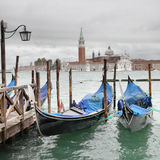 Venice at overcast day Royalty Free Stock Photography