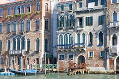 Venice Palaces Stock Image