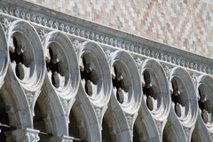 Venice, Palazzo Ducale stock image