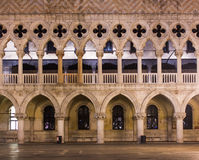 Venice Palazzo Ducale particular Royalty Free Stock Photography
