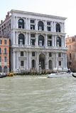 Venice, Palazzo on the Grand Canal royalty free stock photos