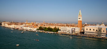 Venice Panorama Royalty Free Stock Photo