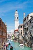 Venice panorama cityscape, San Giorgio dei Greci Royalty Free Stock Photography