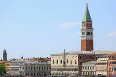 Venice panorama, Italy Royalty Free Stock Images