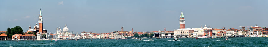 Venice Panorama, Italy Stock Images