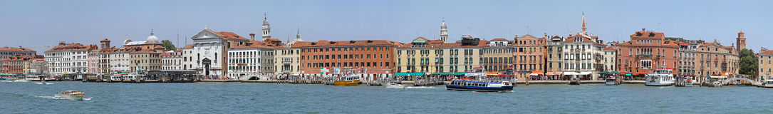 Venice Panorama Royalty Free Stock Images