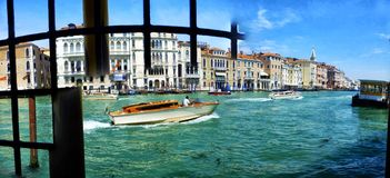 Venice - Panorama Canal Grande Royalty Free Stock Photography