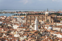 Venice Panorama. View over The City of Water, Venice in Italy Royalty Free Stock Photos