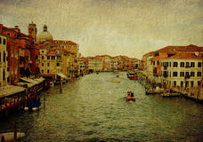 Venice, panoramic view Stock Image