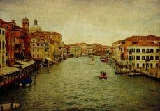 Venice, panoramic view stock image
