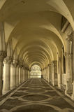 Venice Passageway. A passageway in Venice with repetitive arches Stock Images