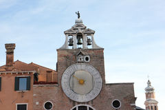 Venice. Photo image with church and bell tower Royalty Free Stock Image