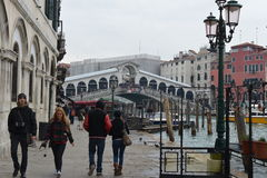 Venice. Photo of thr Venice in winter Stock Photography