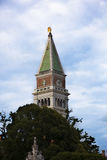 Venice, Piazza San Marco, Bell Tower, Vertical, Day Royalty Free Stock Photo
