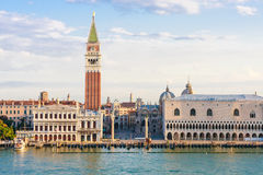 Venice, Piazza San Marco in the morning Royalty Free Stock Photos