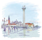 Venice. Piazza San Marco Royalty Free Stock Photography