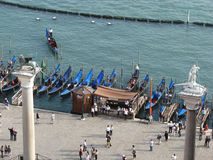 Venice, Piazzetta San Marco door Stock Photos