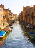 Venice, picturesque canal view Royalty Free Stock Photos