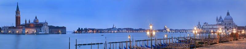 Venice Pier 2 Maggiore Santa Maria Rise Royalty Free Stock Photography