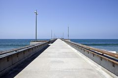 Venice Pier in Soutern California Stock Images
