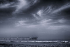 Venice Pier Royalty Free Stock Photography