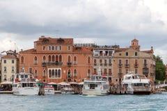 Venice. Pleasure craft Stock Photography