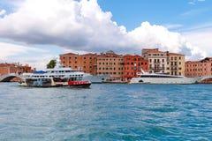 Venice. Pleasure craft Royalty Free Stock Photos