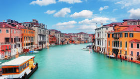 Venice from ponte Accademia Royalty Free Stock Photo