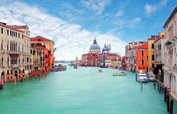 Venice from ponte Accademia Stock Photos